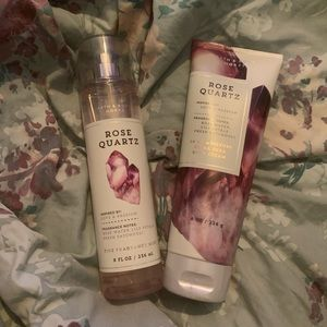 Bath and body works discontinued rose quartz